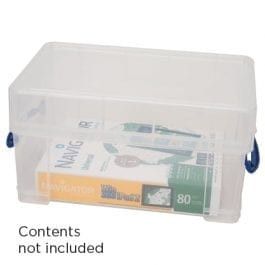 Really Useful Box 9XL Litre Clear 395 x 255 x 155 mm