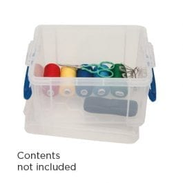 Really Useful Box 1.6 Litre Clear 195 x 135 x 110 mm