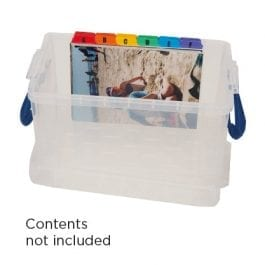 Really Useful Box 2.1 Litre Clear 240 x 130 x 125 mm