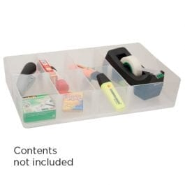 Really Useful Sorting Tray 7-Section Clear