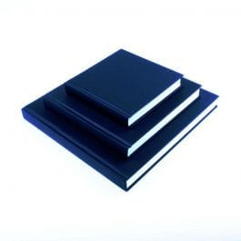 Seawhite Cloth Cover 140 x 140 mm Sketch Book – White Pages