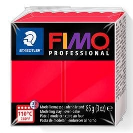 Fimo Professional 85g True Red