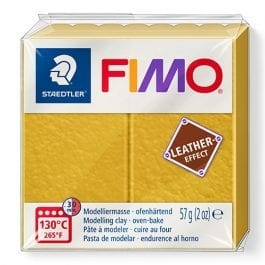 Fimo Leather-Effect 57g Ochre