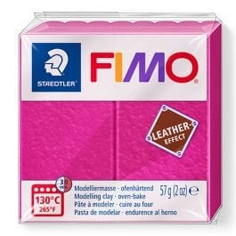 Fimo Leather-Effect 57g Berry