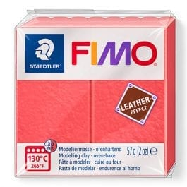 Fimo Leather-Effect 57g Watermelon