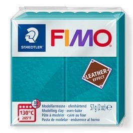 Fimo Leather-Effect 57g Lagoon