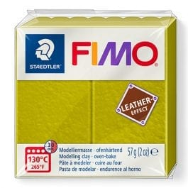 Fimo Leather-Effect 57g Olive