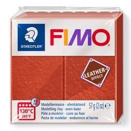 Fimo Leather-Effect 57g Rust