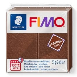 Fimo Leather-Effect 57g Nut