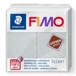 Fimo Leather-Effect 57g Dove Grey