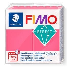 Fimo Effect 57g Translucent Red