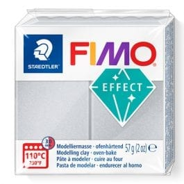 Fimo Effect 57g Pearl Light Silver