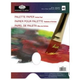 Royal & Langnickel 9″ x 12″ Palette Paper With Hole