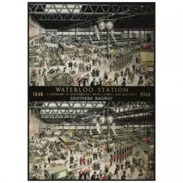 Gibsons Jigsaw Waterloo Station 1000 Piece Puzzle
