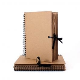 Seawhite A3 Kraft Sketch Book – Thick Brown Pages