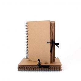 Seawhite A4 Kraft Sketch Book – Thick Brown Pages