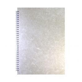 Pink Pig A3 Posh Silk Sketch Book Portrait Pastel White Cover – White Pages