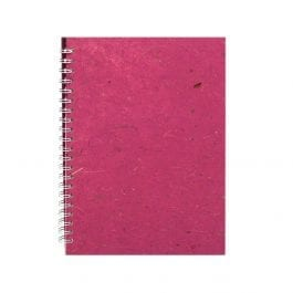 Pink Pig A4 Posh Banana Sketch Book Berry – Cream Pages