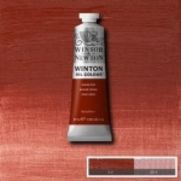 W&N Winton Oil Colour 37ml Tube Indian Red