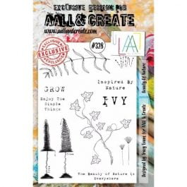 AALL & Create Clear Stamp A5 Beauty of Nature