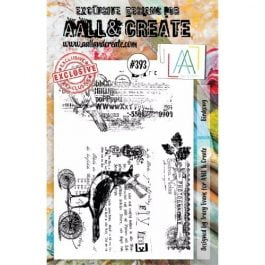 AALL & Create Clear Stamp A5 Birdsong