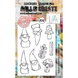 AALL & Create Clear Stamp A6 Gnomes