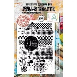 AALL & Create Clear Stamp A7 Checks
