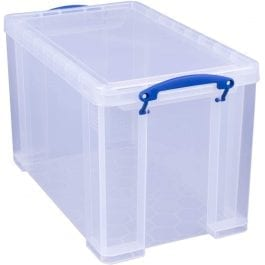 Really Useful Box 24 Litre Clear 465 x 270 x 290 mm