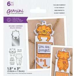 Gemini – Stamp & Die – You are Purrfect