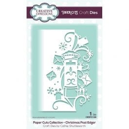 Creative Expressions Paper Cuts Craft Die Christmas Post Edger
