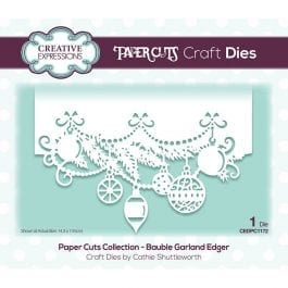 Creative Expressions Paper Cuts Craft Die Bauble Garland Edger