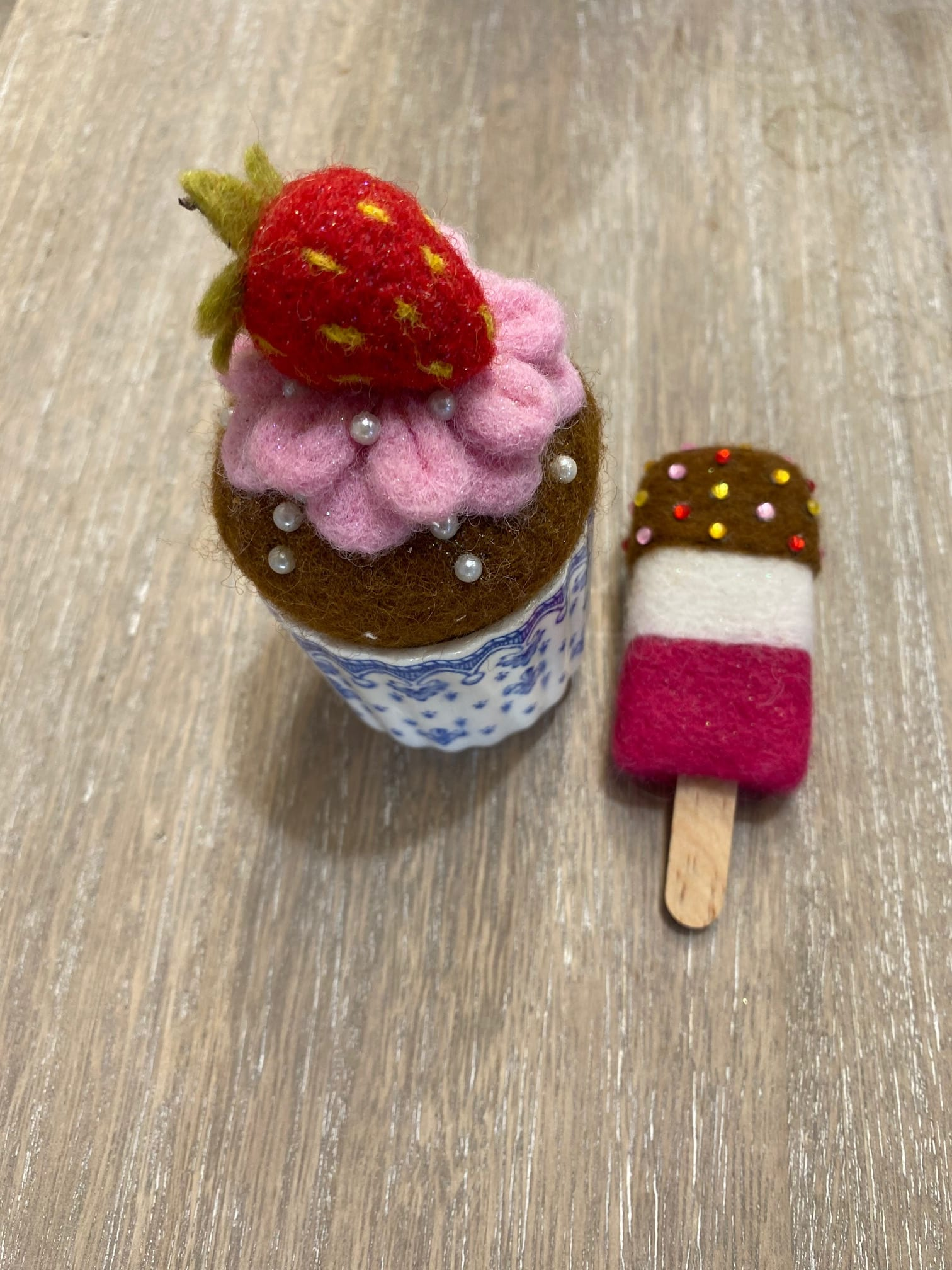 Felted Goodies!