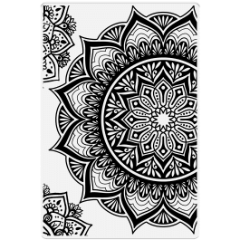 Crafter's Companion Photopolymer Stamp 6″ x 4″ – Magnificent Mandalas