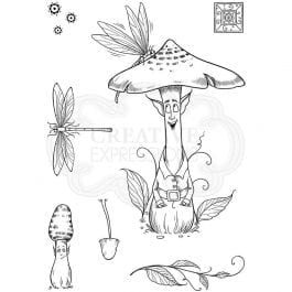 Pink Ink Designs Clear Stamp A6 Shiitake Happens