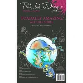 Pink Ink Designs Clear Stamp A6 Toadally Amazing
