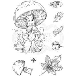 Pink Ink Designs Clear Stamp A6 That Old Chestnut