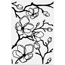 Crafter's Companion Photopolymer Stamp 6″ x 4″ – Spring Blossom