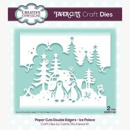 Creative Expressions Paper Cuts Craft Die Double Edgers Ice Palace