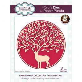 Creative Expressions Paper Panda Die Winter Stag