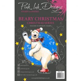 Pink Ink Designs Clear Stamp A5 Beary Christmas