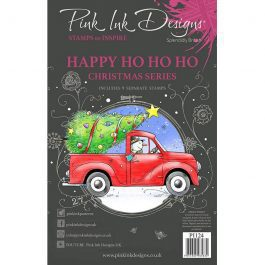 Pink Ink Designs Clear Stamp A5 Happy Ho Ho Ho