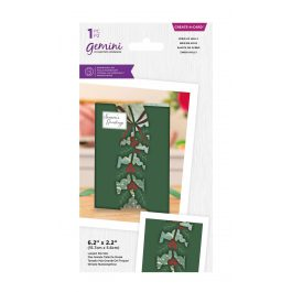 Crafter's Companion Gemini – Create a Card – Sprig of Holly
