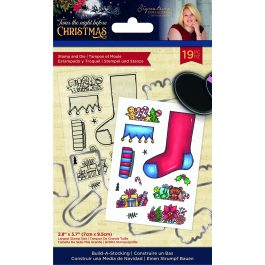 Sara – 'Twas the Night Before Christmas – Stamp & Die – Build-A-Stocking