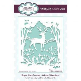 Creative Expressions Paper Cuts Craft Die – Winter Woodland