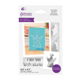 Crafter's Companion Gemini – Stamp and Die – Festive Angel – 4 pc set