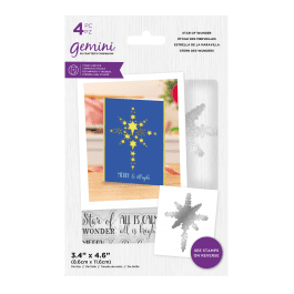 Crafter's Companion Gemini – Stamp and Die – Star of Wonder – 4 pc set