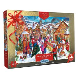 Gibsons Jigsaw Xmas Limited Edition Light Up The Night 1000 Piece Puzzle