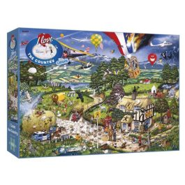 Gibsons Jigsaw I Love Country 1000 Piece Puzzle