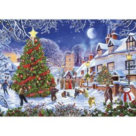 Gibsons Jigsaw The Village Christmas Tree 1000 Piece Puzzle
